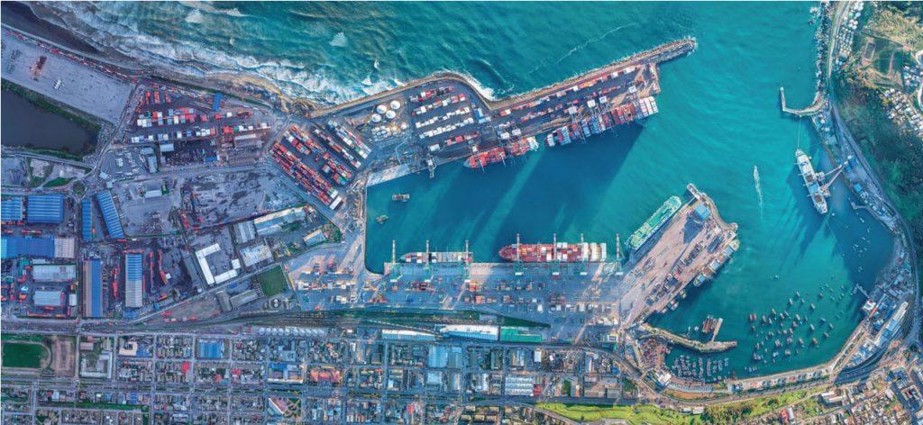 COLSA - Puerto San Antonio con todos sus terminales ocupados y trabajando 2